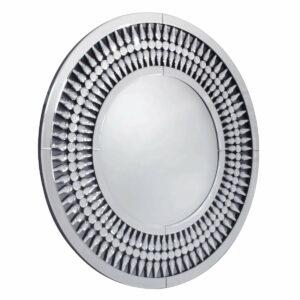 Lustro okrągłe nowoczesne dekoracyjne Marzano 90 cm