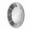 Lustro okrągłe nowoczesne w trójwymiarowej lustrzanej ramie Selene 100 cm