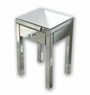 Szafka nocna nowoczesna lustrzana z szufladą Vera lustrzana 40/60/60 cm