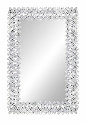 Lustro prostokątne nowoczesne dekoracyjne Voltera 80/120 cm