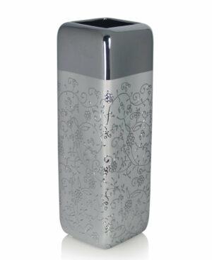 Elegancki srebrny wazon 45 cm