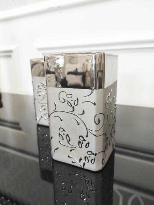 Świecznik srebrny na tealighty