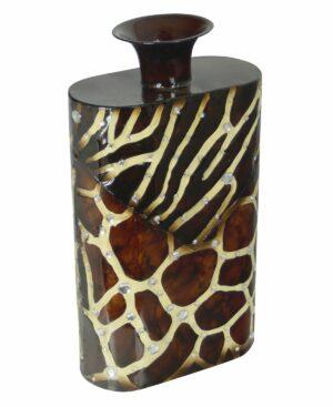 Wazon dekoracyjny dekor żyrafa/zebra 45 cm
