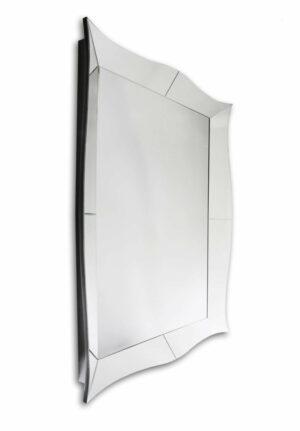 Lustro prostokątne nowoczesne w klasycznej lustrzanej ramie Gaia 120/180 cm