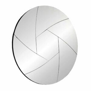 Lustro okrągłe nowoczesne dekoracyjne Pallotta 90 cm