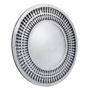 Lustro okrągłe nowoczesne dekoracyjne Marzano 80 cm