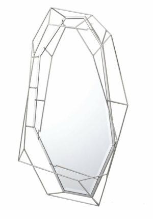 Lustro prostokątne nowoczesne w ramie z efektem przestrzennym Massei II 78/127 cm