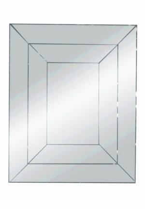 Lustro prostokątne nowoczesne dekoracyjne Salerno 100/120 cm