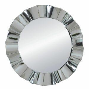 Lustro okrągłe nowoczesne w ramie lustrzanej Mio 96 cm
