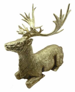 Figurka jeleń Sitting Deer