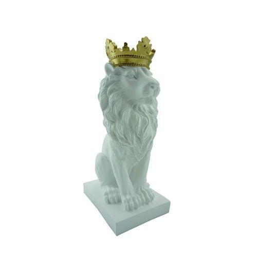 Dekoracja Lew White Lion