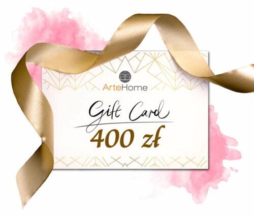 Karta podarunkowa ArteHome 400 PLN