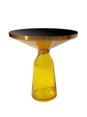 Bottle table żółty