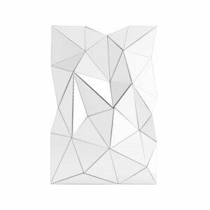 Lustro nowoczesne w trójwymiarowe lustrzane elementy Adria 80/120 cm
