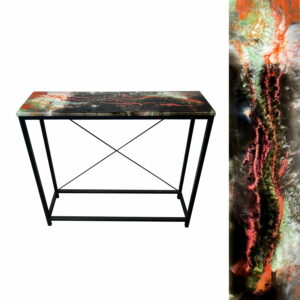 Stylowa konsola loft loftowa stolik