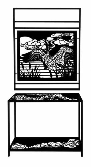 Żurawie loft konsola wieszak garderoba