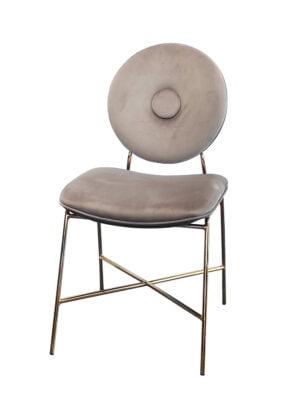 Krzesło Rossario brązowe