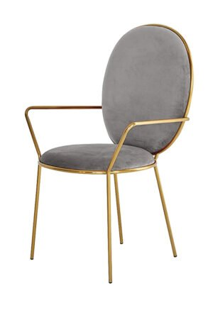 Krzesło szare Etienne