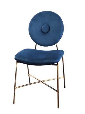 Krzesło niebieskie Rossario