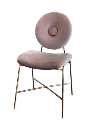 Krzesło Rossario różowe